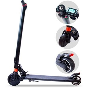 <h6 id=culo>M MEGACHEELS Patinete electrico Adulto - Scooter electrico 25km/h, Juventud Unisex,Negro</h6>
