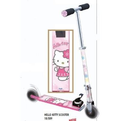 patinete 2 ruedas hello kitty mondo